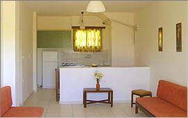 Familien-Apartment - Küche