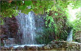Argiroupolis: Bei den Quellen